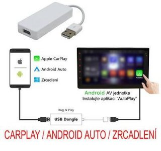 Univerzální modul Apple CarPlay / Android Auto