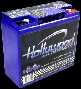 Autobaterie Hollywood HC20